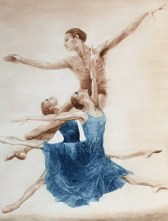 Ballet in New York 1977 Limited Edition Print - G.H Rothe