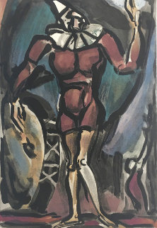 Clown Au Timbale 1938 Limited Edition Print - Georges Rouault
