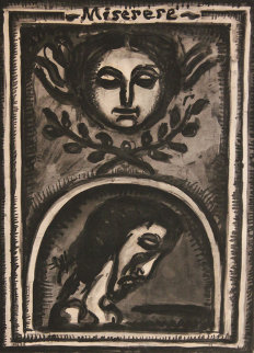 Miserere 1923 Limited Edition Print - Georges Rouault