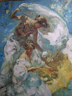 Mediterraneo Embellished Limited Edition Print -  Royo