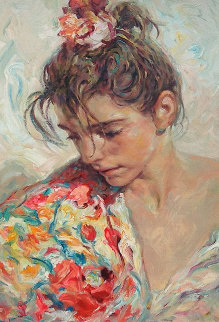 Shawl Suite of 2 Serigraphs  1997 Limited Edition Print -  Royo