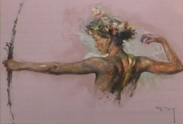 Eter From the Sagittas Museum Collection 44x55 Original Painting -  Royo