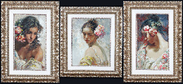 La Perla, Adolescencia, and Estudio Framed Set of Three Limited Edition Print -  Royo