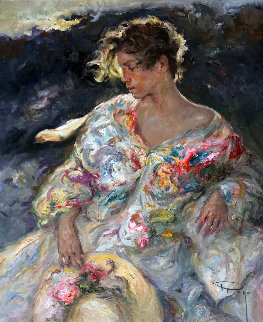Quietude 2000 32x27 Original Painting -  Royo