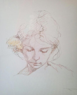 Untitled Drawing Portrait 2009 30x30 Drawing -  Royo