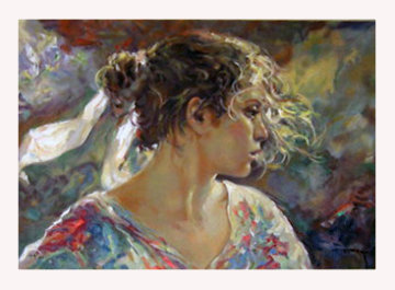 Nostalgia on clay panel 2004 Limited Edition Print -  Royo