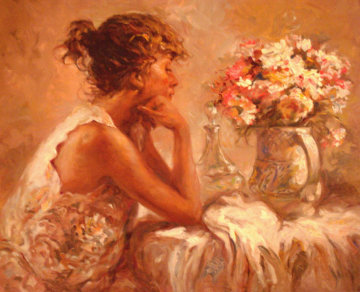 Pensativa 2000 Embellushed Limited Edition Print -  Royo
