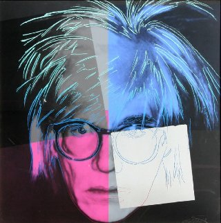 Andy Warhol  From Homage to Warhol Suite 1989 Limited Edition Print - Rupert Jasen Smith
