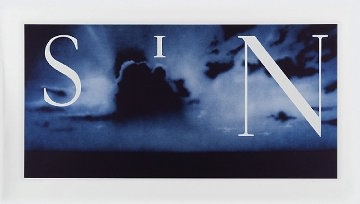 Sin - Without 2003 Limited Edition Print - Edward Ruscha