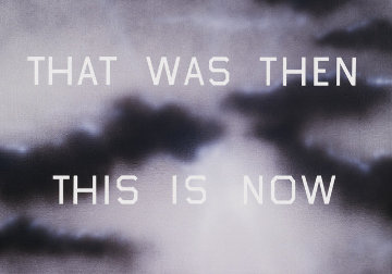 That Was Then This is Now Limited Edition Print - Edward Ruscha