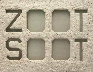 Zoot Soot (Dedicated to the Memory of Richard Duardo) 2015 Limited Edition Print - Edward Ruscha