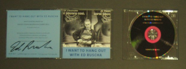 I Want To Hang Out With Ed Ruscha- Photo Booklet with CD  (In CD Case),.