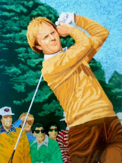 Jack Nicklaus 1981 Limited Edition Print - Rick Rush