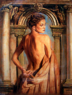 Girl with Columns Limited Edition Print - Tomasz Rut