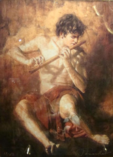 Boy with the Flute Limited Edition Print - Tomasz Rut