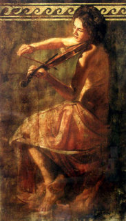 Girl with Violin Limited Edition Print - Tomasz Rut