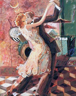 Tango For Two 2000 Embellished Limited Edition Print -  Sabzi