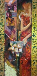 Manifesto of Romance 2003 60x30 Original Painting -  Sabzi