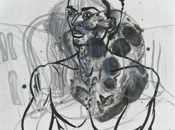 Untitled Etching 1986 Limited Edition Print - David Salle