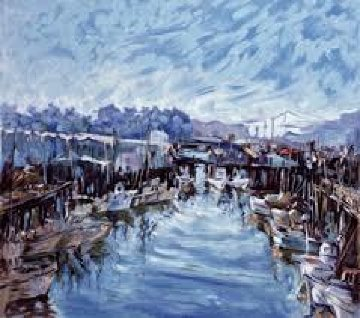 Fisherman's Wharf 1973 Limited Edition Print - Marco Sassone