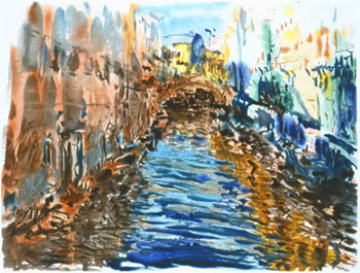 Santa Lucia 1990 (Canal) Limited Edition Print - Marco Sassone