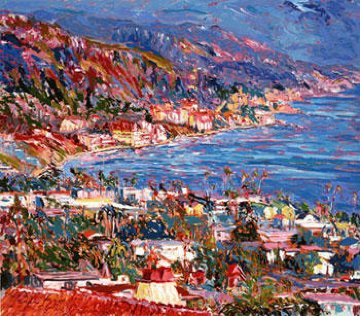 Laguna Beach Vista AP  1986 Limited Edition Print - Marco Sassone