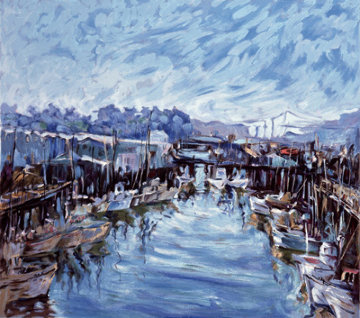 Fisherman's Wharf, San Francisco, 1976  AP  Limited Edition Print - Marco Sassone