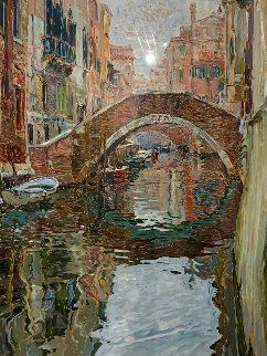 Venice Canal 1988 Limited Edition Print - Marco Sassone