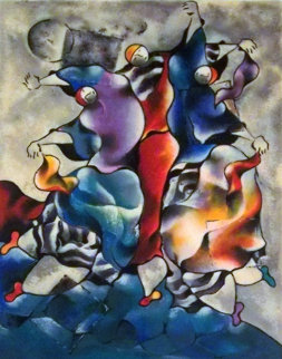 Arabesque by the Sea 1997 Limited Edition Print - David Schluss