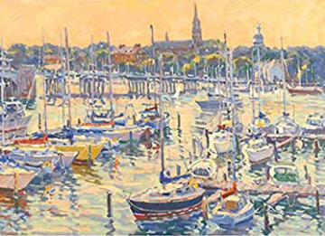 Annapolis Sunset PP Limited Edition Print - Bill Schmidt