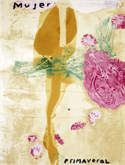 Mujer 1995 40x30 Limited Edition Print - Julian Schnabel