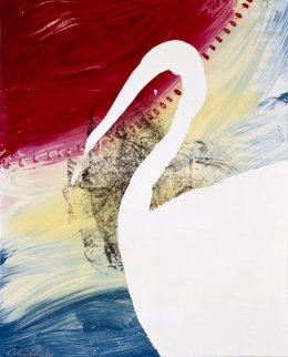 View of Dawn From the Tropics- Roy 1998 Limited Edition Print - Julian Schnabel