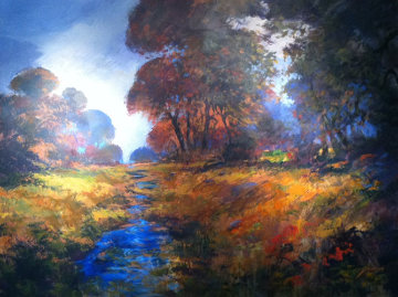 Autumn Splendor Original Painting - Michael Schofield