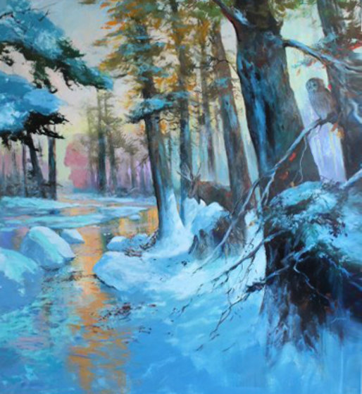 Deep in the Winters Grip 2013 75x70