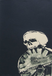 Anpao Deather 1976 Limited Edition Print - Fritz Scholder