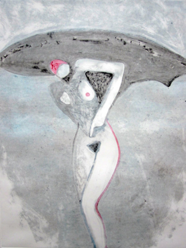 Lilith 1 (From the Lilith Series) Monotype 1992 41x30