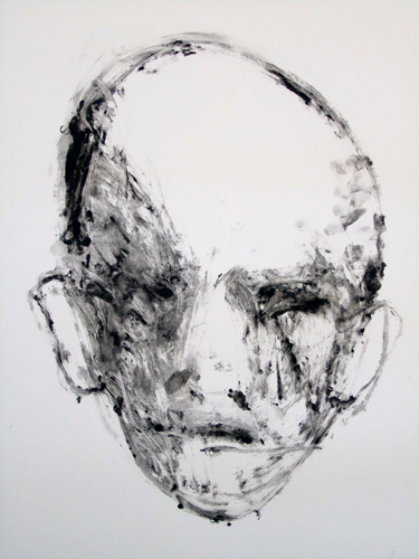 Face #2 (Face Series) Monotype 1985 40x30