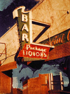Vanishing America Series: Bar in Walsenburg Colorado 2005 Limited Edition Print - Jeff Scott