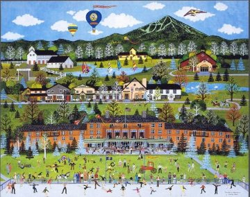 Sun Valley Celebration 1986 Limited Edition Print - Jane Wooster Scott