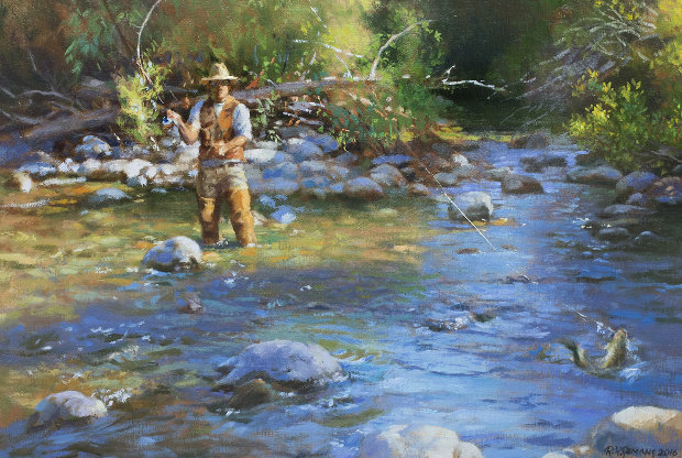 Fly Fisherman 2016 23x29