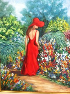 Lady in the Garden 2007 Limited Edition Print - Jane Seymour
