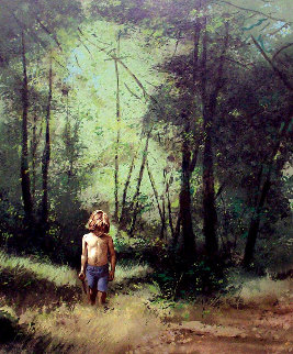 Summer Woods PP 1978 Limited Edition Print - Adolf Sehring