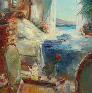 Great Morning 2006 30x30 Original Painting - Stephen Shortridge