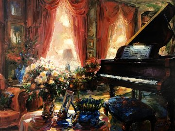 Private Recital 2002 Embellished Limited Edition Print - Stephen Shortridge