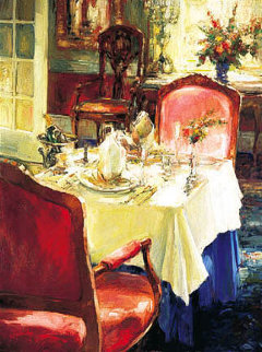 Table For Two Embellished 2002 Limited Edition Print - Stephen Shortridge