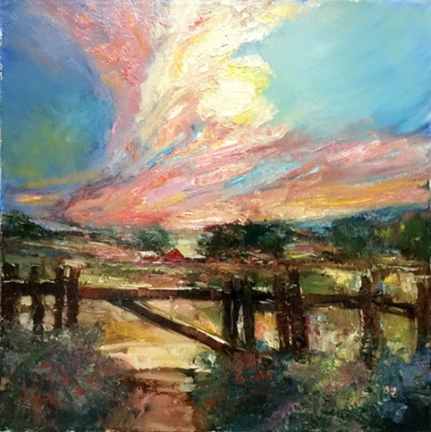 Sunset Rothdrum 20x20