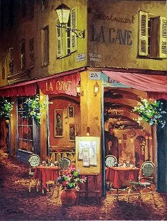 Dinner a La Cave PP Limited Edition Print - Viktor Shvaiko