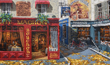 Autumn in Paris PP Limited Edition Print - Viktor Shvaiko