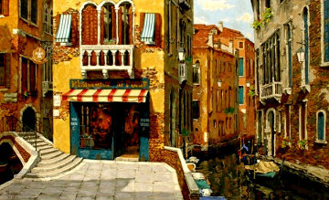 Sunny Day in Venice PP 1998 Limited Edition Print - Viktor Shvaiko