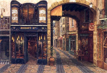 Carrer De Catalonia, Spain 1999 Limited Edition Print - Viktor Shvaiko